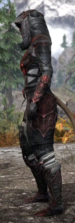 Thorn Legion Heavy - Khajiit Female Side
