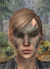 Maddening Mishap Face Markings - Female Front