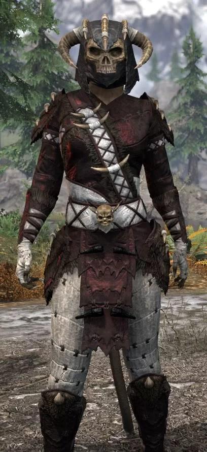 Ancestral Reach Heavy - Khajiit Female Close Front