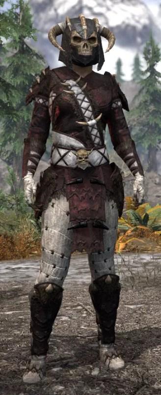 Ancestral Reach Heavy - Khajiit Female Front