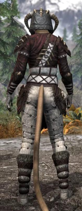 Ancestral Reach Heavy - Khajiit Female Rear
