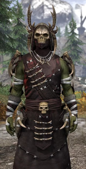 Ancestral Reach Light - Argonian Male Robe Close Front