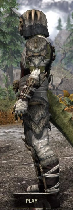 Ancestral Reach Medium - Argonian Male Side