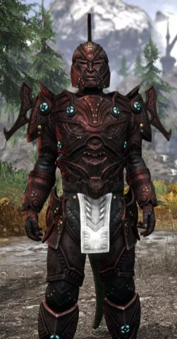Arkthzand Armory Heavy - Argonian Male Close Front