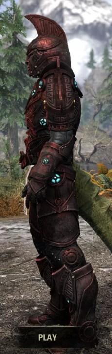 Arkthzand Armory Heavy - Argonian Male Side