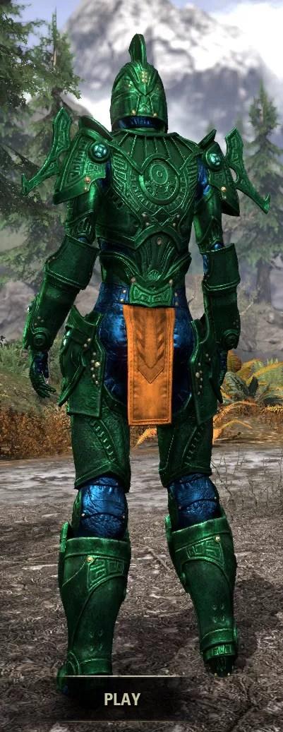 Arkthzand Armory Heavy - Dyed Rear