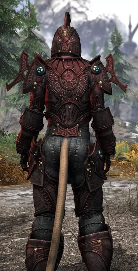 Arkthzand Armory Heavy - Khajiit Female Close Rear