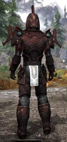 Arkthzand Armory Heavy - Male Rear