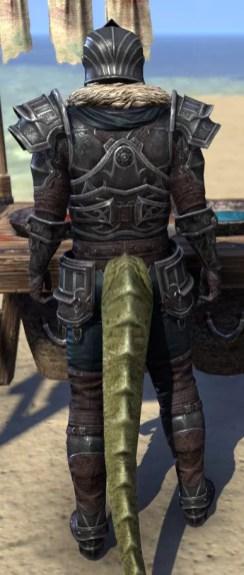 Ebonsteel Knight - Argonian Male Rear