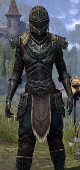 Ebonsteel Knight - Female Close Front
