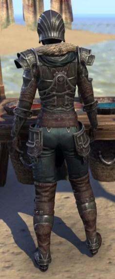 Ebonsteel Knight - Female Rear