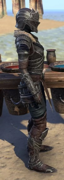 Ebonsteel Knight - Female Right