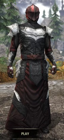 Nighthollow Light - Argonian Male Robe Front