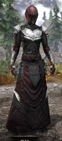 Nighthollow Light - Female Robe Front