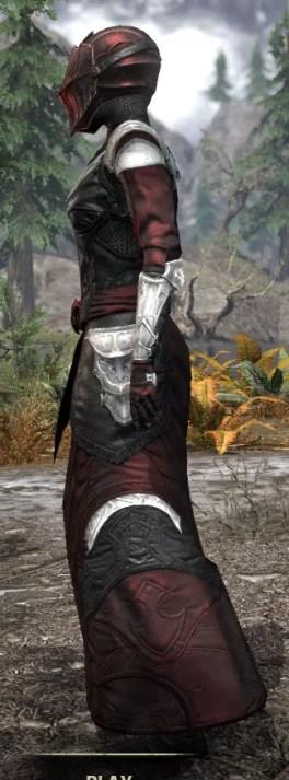 Nighthollow Light - Female Robe Side