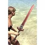 Sea Giant Rubedite Sword