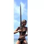 Thorn Legion Iron Greatsword