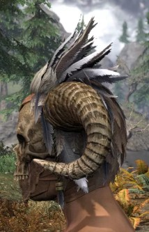 Witchwise Headdress - Male Side