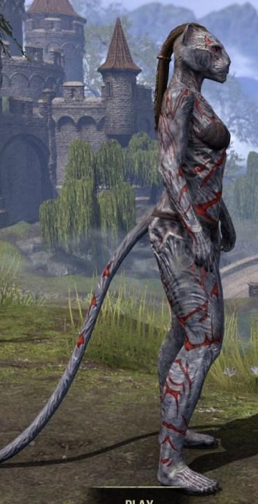 Dagon's Viscerent - Khajiit Female Right