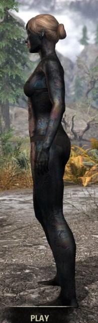 Slag Town Diver - Female Side