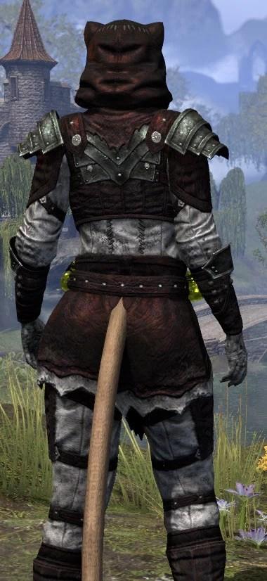 True-Sworn Heavy - Khajiit Female Close Rear