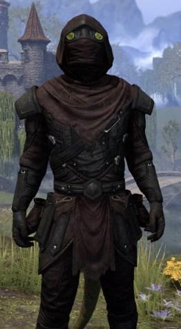True-Sworn Light - Argonian Male Shirt Close Front