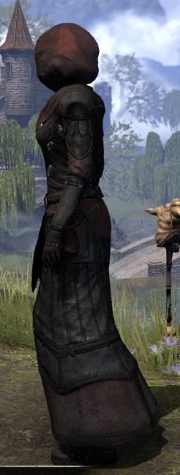 True-Sworn Light - Female Robe Side