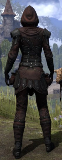 True-Sworn Light - Female Shirt Rear