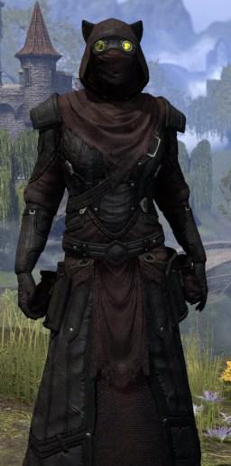 True-Sworn Light - Khajiit Female Robe Close Front