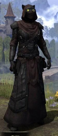 True-Sworn Light - Khajiit Female Robe Front