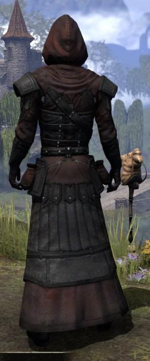 True-Sworn Light - Male Robe Rear