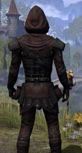 True-Sworn Light - Male Shirt Close Rear