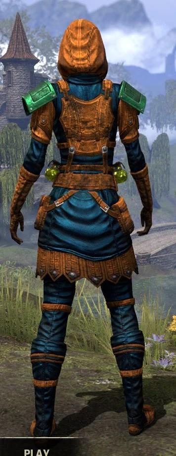 True-Sworn Medium - Dyed Rear