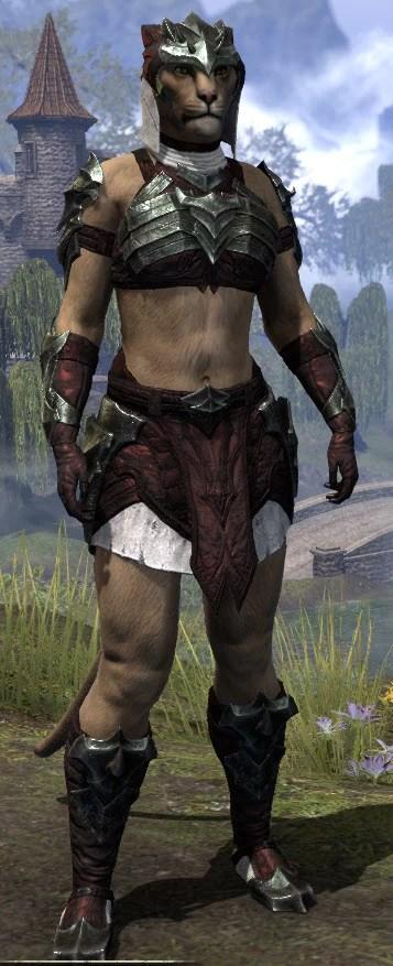 Waking Flame Light - Khajiit Female Shirt Front