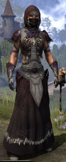 Wayward Guardian Ancestor Silk - Female Robe Front