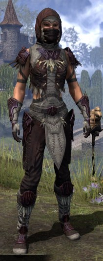 Wayward Guardian Ancestor Silk - Female Shirt Front
