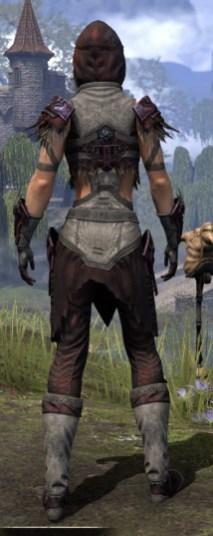 Wayward Guardian Ancestor Silk - Female Shirt Rear