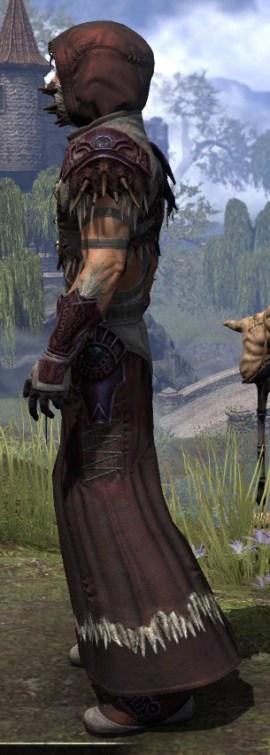Wayward Guardian Ancestor Silk - Male Robe Side