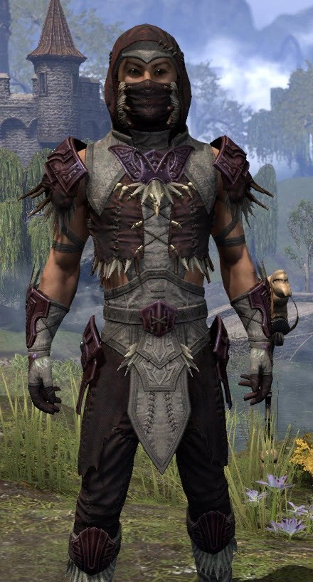 Wayward Guardian Ancestor Silk - Male Shirt Close Front