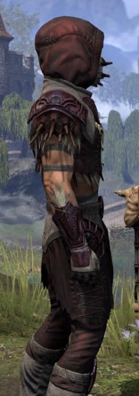 Wayward Guardian Ancestor Silk - Male Shirt Close Side