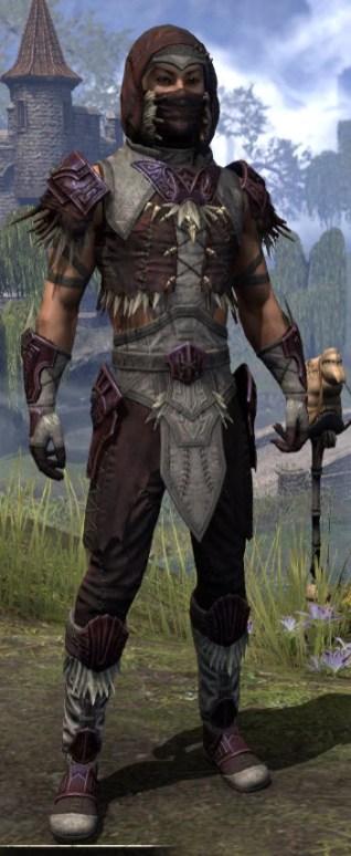 Wayward Guardian Ancestor Silk - Male Shirt Front