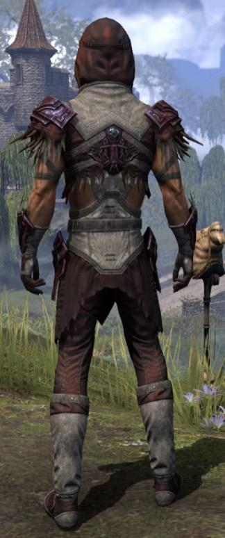 Wayward Guardian Ancestor Silk - Male Shirt Rear