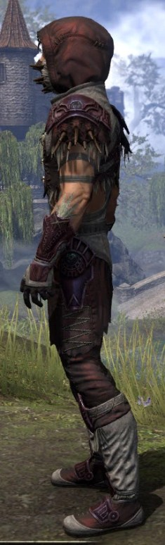 Wayward Guardian Ancestor Silk - Male Shirt Side