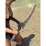 Wayward Guardian Iron Dagger