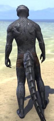 Hollow Void Husk - Argonian Male Rear