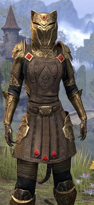 Imperial Champion - Khajiit Female Close Front