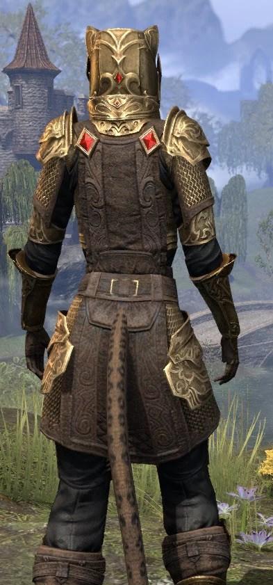 Imperial Champion - Khajiit Female Close Rear