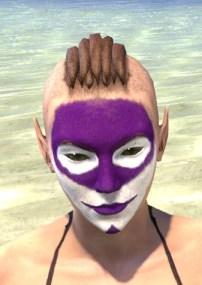 Prankster Purple Face Paint - Female Front