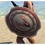 Ancestral Akaviri Ruby Ash Shield