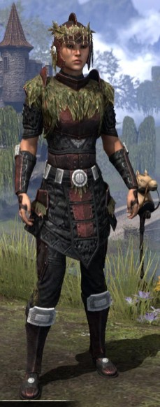 Black Fin Heavy - Female Front
